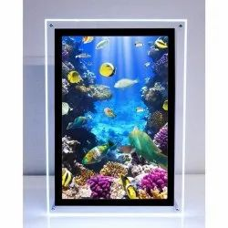 Acrylic LED Photo Frames, For Gift, Size: 6 X 9 Inch