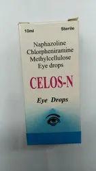 Naphazoline, Chlorpheniramine Methylcellulose Eye Drops