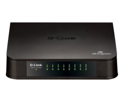 LAN  Capable D-Link 16-port 10/100 Switch DES-1016A, 16 Ports
