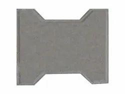 Concrete Zigzag Concerete Paver Block, Dimensions: 7x3 Inches, Thickness: 60 Mm