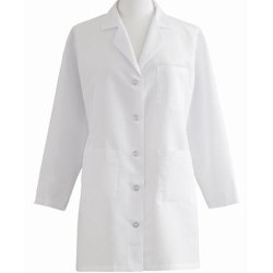 Unisex Pure Cotton White Full Sleeves Doctor Coat, For Hospital