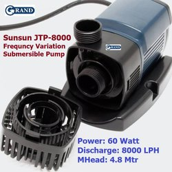 Grand Sunsun JTP-8000 Frequency Variation Submersible Water Pump For Biofloc Tank Fish Pond