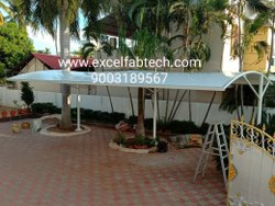 Tensile Structure For Solar Protection