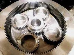 Custamize Cnc Finish Industrial Spur Gear, 0.5 - 12 Module