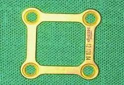Rectangular 4 Hole Maxillofacial Mini Plate