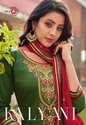 Triple A Kalyani Jam Silk Cotton Salwar Suits Catalog