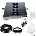 Quad Band 2G 3G 4G Mobile Signal Amplifier Coverage Upto 1500 Sq. Feet