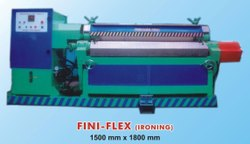 11.2 Kw Mild Steel 1500 Mm Leather Fini-Flex Machine, Automation Grade: Semi-Automatic