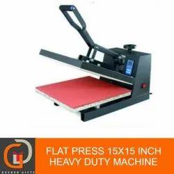 Flat Heat Press Sublimation Machine