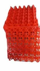 Red Plastic Egg Tray, No Of Egg Capacity: 30, Size: 290x286 Inch