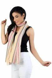 100%Cotton Stripe Scarves