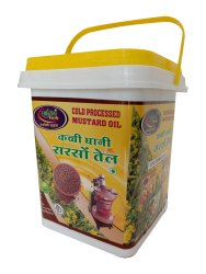 5 Litre  Cold Processed Mustard Oil