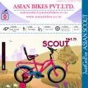 Scout Kids Series 16x1.75 (pink) / Children Bicycle / Baby Bicycle.