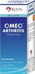 Bjain Omeo Arthritis Medicated Syrup, For Clinical, Liquid