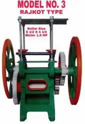 Sugarcane Crusher Machine Rajkot Type Model No. 3