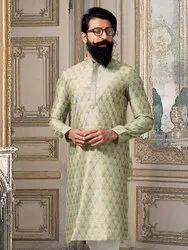 Designer Party Wear Silk Kurta With Pajama Catalog Collection