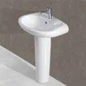 Ceramic Multicolor Wash Basin Pedestal