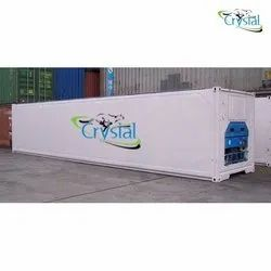 Crystal Brand New 40 Feet Reefer Container