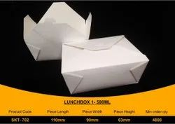 Disposable Paper Food packaging Box 500 ml
