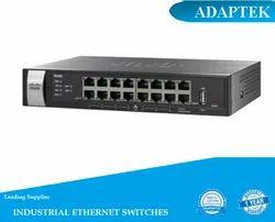 Black Rackmount Unmanaged Ethernet Switches
