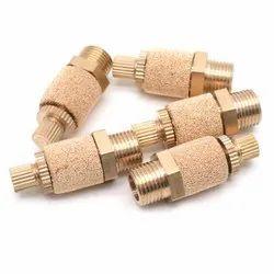 Pneumatic Brass Silencers