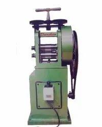 1 Hp WPS Steel Mini Goldsmith Wire & Sheet Rolling Machine
