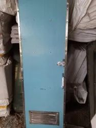 Stainless Steel Polished Lavatory Door, For Railways, Single