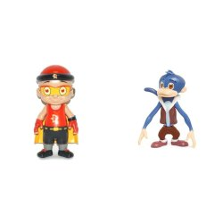 Plastic Cartoon Character Toys