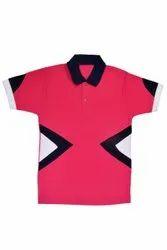 Half Sleeve Plain Men Casual Cotton T Shirt