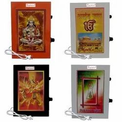 Metallic Chanting Repeater Akhand Jaap Machine Device Electric Box For Mandir Puja Room Good Luck