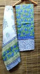 Rp Creation Casual Wear Bagru Print Cotton Suit Set, Handwash