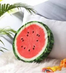 Water Melon Shape Cushion - Outer Cover Removable & Washable