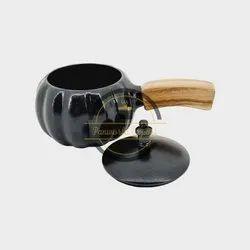 Black Aluminium Serving Cooker, For Restaurant, Capacity: 500 ml