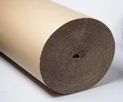 Prince Marketing Plain Brown Corrugated Paper Roll, For Packaging, GSM: 80 GSM
