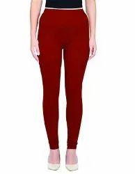 55 Colors Ladies 95% Cotton 5% Lycra Churidar Length Leggings