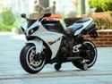 Kids Battery Operated Ride On White R1 Bike