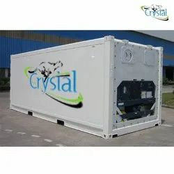 Crystal Used Reefer Container On Rent Services