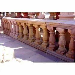 Customzed Balcony Stone Railing