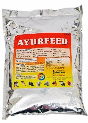 Ayurvedic Medicine For Feed Supplement - Ayursun Ayur Feed