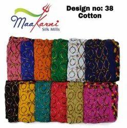 Cotton Multy Embroidery Dupatta