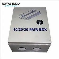 Royal India 2 Way Telephonic DP Box With Lock, For Switches