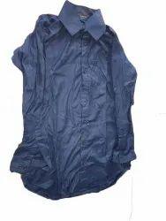Dr Dang Cotton Mens Casual Blue Shirt