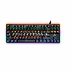 Ant Esports MK100 Multicolour LED Backlit Wired TKL Mechanical Gaming Keyboard with Blue Switches