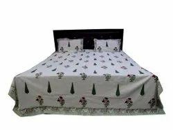 Hand Block Printed Bed Sheet