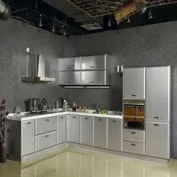 Modern Aluminium Modular Kitchen