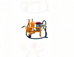 Air Compressor Track Heating Machine
