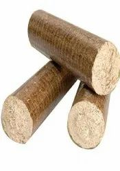 Sawdust Briquettes, For Boiler, Thickness: 70 mm