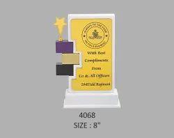 Premium Bricks Wooden Trophy