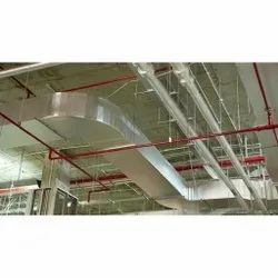 Electric Pre Fabricated AC Duct, For Commercial