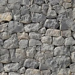 Brown Block Granite Wall Stones, Thickness: 12x8x6 inch